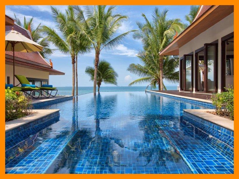 4180 - Beachfront luxury with Thai chef service - Image 1 - Lipa Noi - rentals