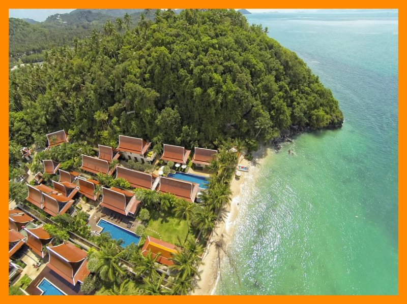 3180 - Beachfront luxury with Thai chef service - Image 1 - Lipa Noi - rentals