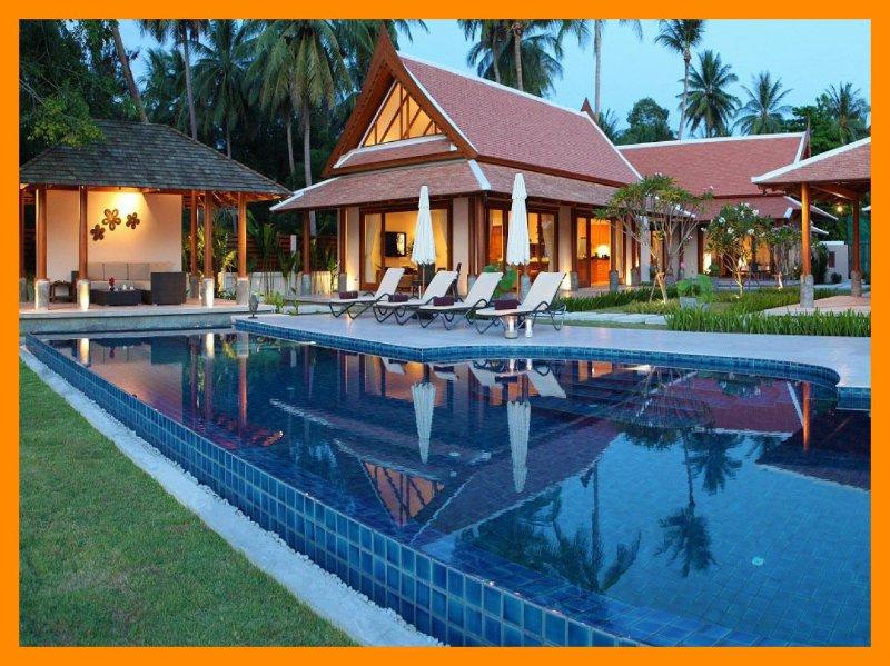 3027 - Beachfront luxury with Thai chef service - Image 1 - Lipa Noi - rentals