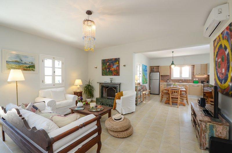 Seaside Naxos | Villa Dimitra | Plaka Beach - Image 1 - Plaka - rentals