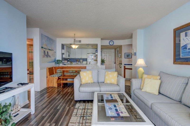 Living Room - St. Regis 1502 -2BR_7 - North Topsail Beach - rentals
