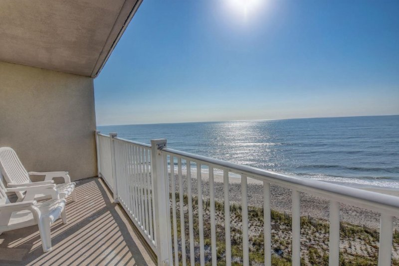 View From Your Balcony - St. Regis 2507 Oceanfront! | Indoor Pool, Outdoor Pool, Hot Tub, Tennis Courts - North Topsail Beach - rentals