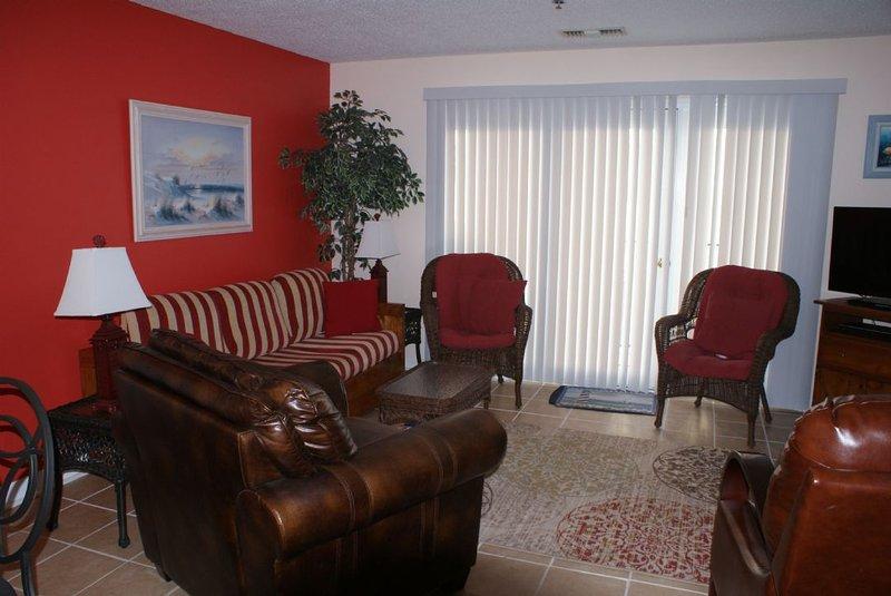 Living Area - Villa Capriani 118-B Oceanfront! | 3 Pools, Largest Pool on NC Coast, 2 Hot - North Topsail Beach - rentals