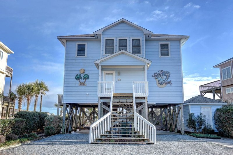 3634 Island Dr - Island Drive 3634 Oceanfront! | Private Heated Pool, Hot Tub, Fireplace - North Topsail Beach - rentals