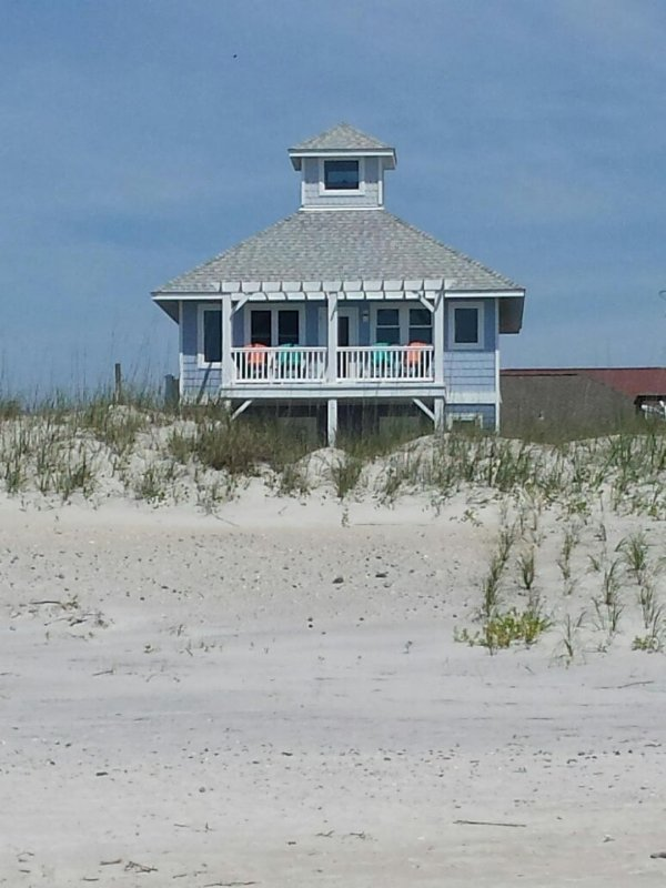 Topsail Road 321 Oceanview! | Cute Beach Cottage only steps away from the beach - Image 1 - North Topsail Beach - rentals