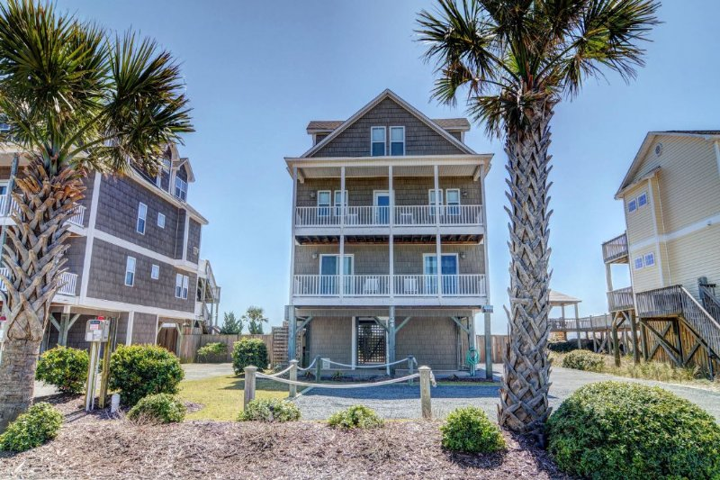 1124 New River Inlet Road - New River Inlet Rd 1124 -6BR_SFH_OF_14 - North Topsail Beach - rentals