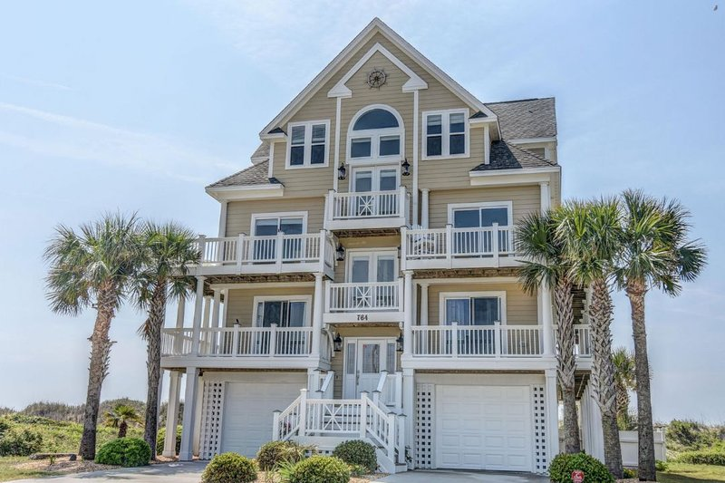 764 New River Inlet Rd - New River Inlet Rd 764 Oceanfront! | Private Heated Pool, Hot Tub, Elevator - North Topsail Beach - rentals