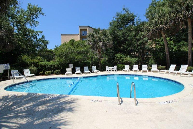 Pool - Xanadu Villa, Short Walk to the Beach - Hilton Head - rentals