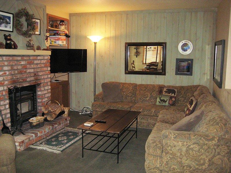 Living Room - Hidden Valley - HV118 - Mammoth Lakes - rentals