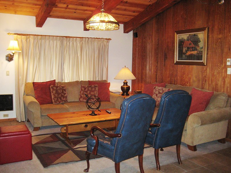 Living Room - Chateau Sans Nom - CSN12 - Mammoth Lakes - rentals