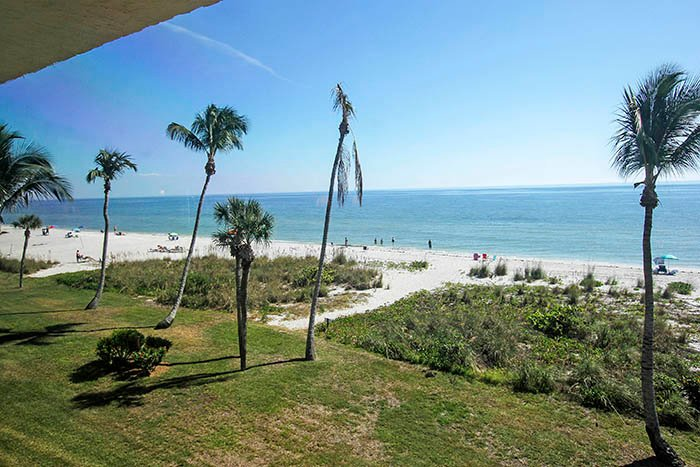 View from Unit - Pointe Santo A37 - Sanibel Island - rentals