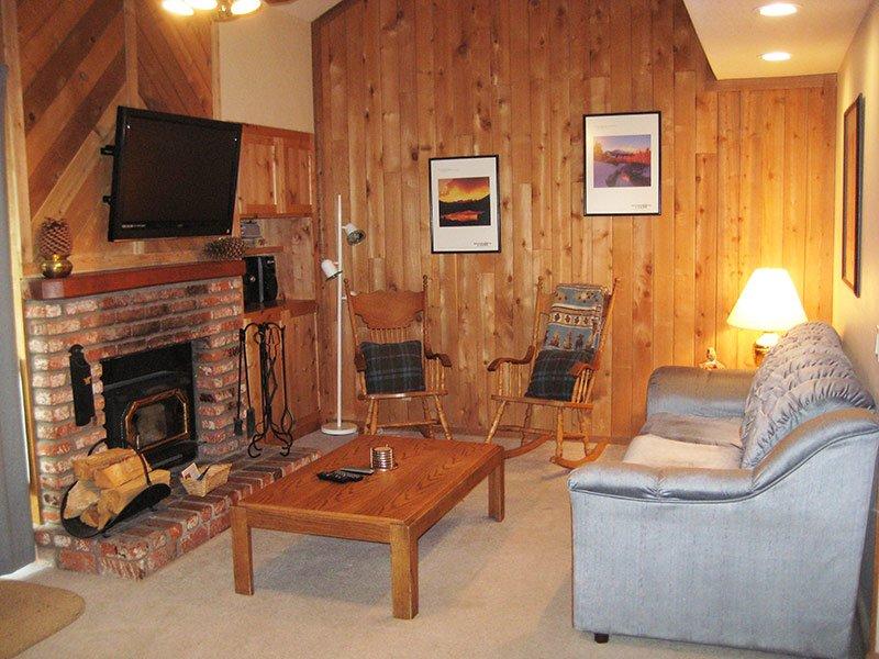 Living Room - Hidden Valley - HV122 - Mammoth Lakes - rentals