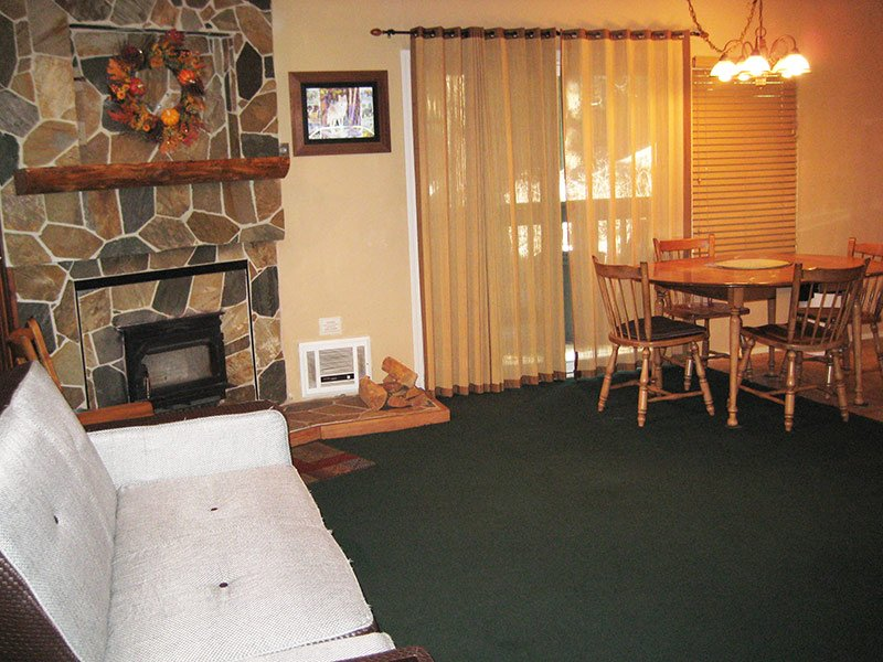 Living Room - Sherwin Villas - SV01A - Mammoth Lakes - rentals