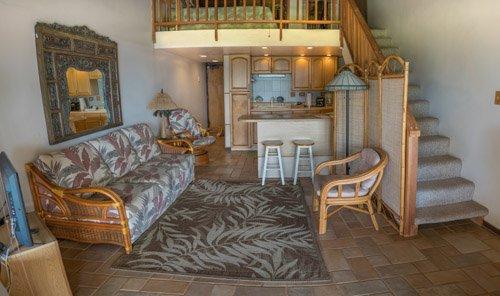 Living area from lanai - Kepuhi Beach Resort 2143 - Maunaloa - rentals