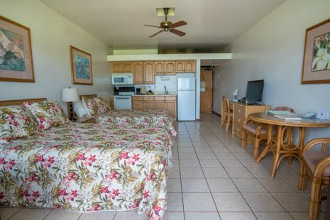 Living area from lanai - Kepuhi Beach 1182 - Maunaloa - rentals