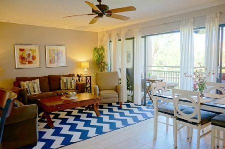 View out to Glass/Screen Enclosed Lanai - Firethorn 822 - Sarasota - rentals