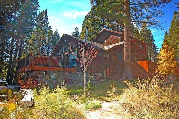 Exterior - 1589 Zapotec Drive - South Lake Tahoe - rentals