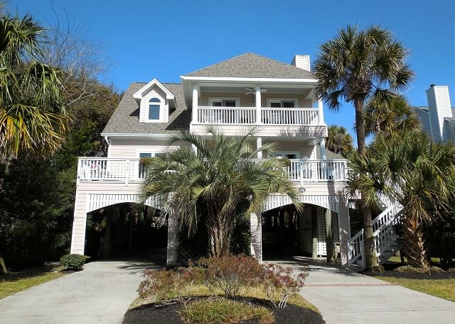 Exterior - C Scape - Newly Renovated Home with Easy Beach Access - Folly Beach - rentals