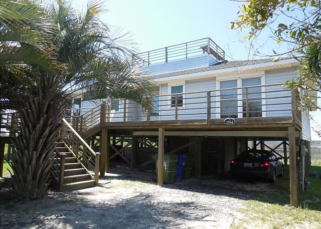 Exterior - FiFi's Fabulous Folly - Near Washout with Great Views - Folly Beach - rentals