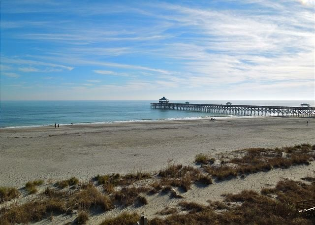 Amazing Oceanfront View!! - Folly Beach Suites 3A - Outstanding Ocean Views and Steps from Everything - Folly Beach - rentals