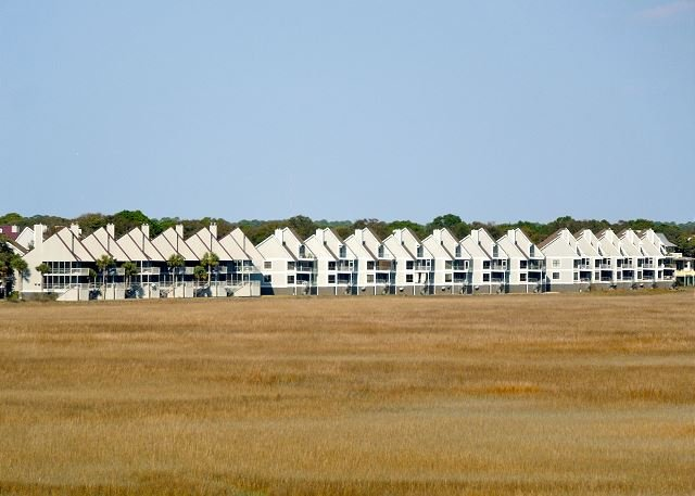 Exterior - Little Oak Villas 220 - Classy Condo with Views of Tidal Marshlands - Folly Beach - rentals