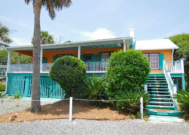 Exterior - Neptune's Folly - Great Vibes and Relaxing Environment - Folly Beach - rentals