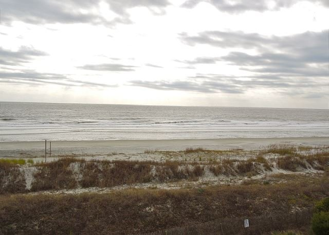 Beautiful Ocean View - Ocean Pointe Villa 203 - Spacious Condo with Ocean Views - Folly Beach - rentals