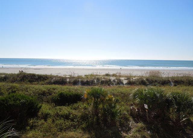 View - Seacoast Villas 1 - Unobstructed Ocean Views - Folly Beach - rentals