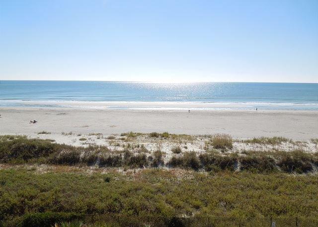 Ocean View - Seacoast Villas 8 - Beautiful Top Floor Condo with Great Views - Folly Beach - rentals