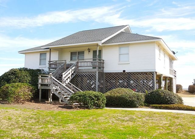 Streetside Exterior - Shore-Nuff Corley's - Perfect Beach Home for Families - Folly Beach - rentals