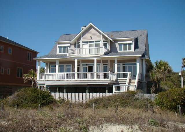 Exterior - Sunrise, Sunset - Custom Home with Spacious Living Areas - Folly Beach - rentals