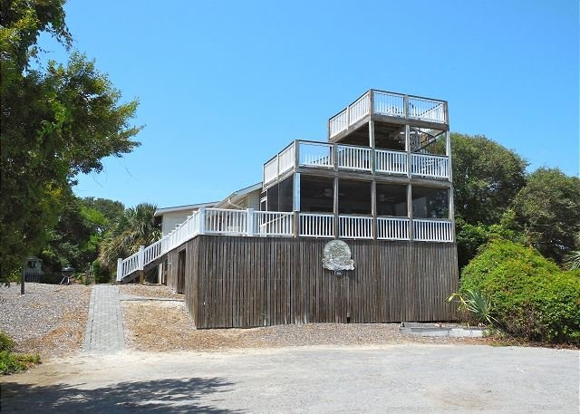 Exterior - The Boat House - Unique Nautical Themed Home - Folly Beach - rentals