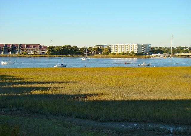 Beautiful River Views!! - Water's Edge 80 - Townhouse with Views of the River and Marsh - Folly Beach - rentals