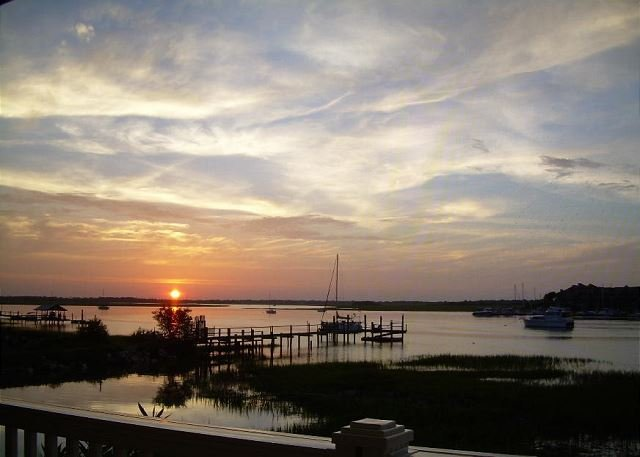 Gorgeous Sunset Views!! - Turtle Bay 13 - Beautiful 3 Bedroom, 3 Bath unit that faces the Folly River!! - Blue Mountain Beach - rentals