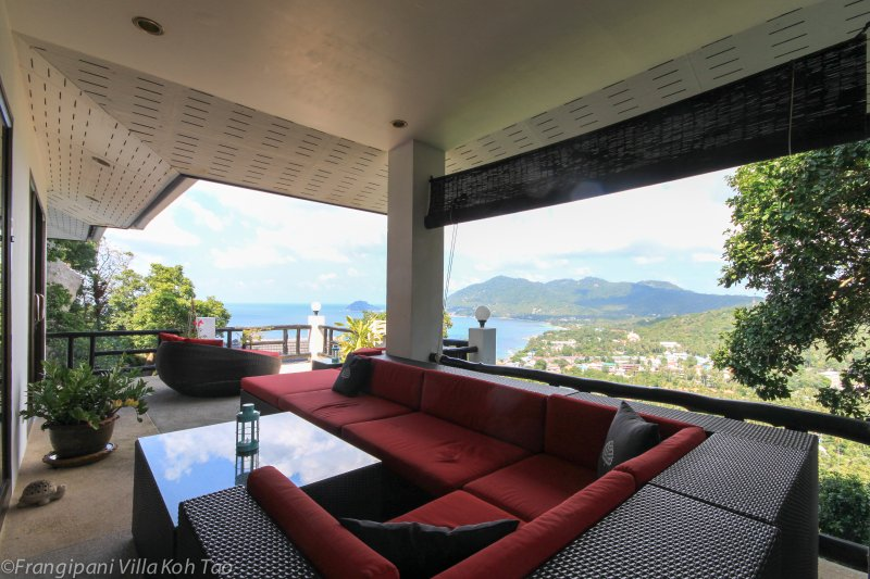 Enjoy lazy days on this stunning terrace! - Stunning Frangipani Villa on the island Koh Tao - Koh Tao - rentals