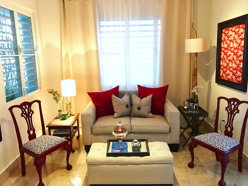 Charming, Chic, Comfortable Urban Boutique Oasis (Air Conditioned Bedrooms) - Image 1 - San Juan - rentals
