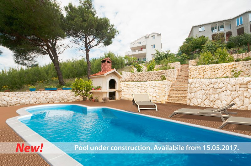 Swimming pool after 15. may - MODERN AND LUXURY APARTMENT 130m2 F2 - Split - rentals