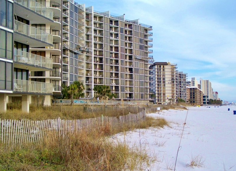 2nd floor Beach Front - Beautiful views of the sugar white sand and crystal clear Gulf of Mexico - 10% off New Spring Res. 4 Beach Front amazing Views with floor to ceiling glass - Panama City Beach - rentals