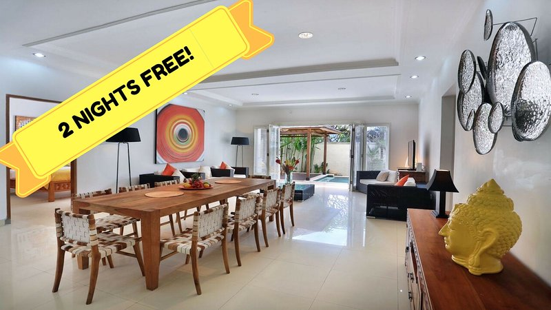 Stay with us for a  minimum of 5 NIGHTS AND GET FREE 2 NIGHTS stay with FREE BREAKFASTS!!! - PROMO! FREE 2 NIGHTS FOR MAY!!10BR/8BATH - Seminyak - rentals