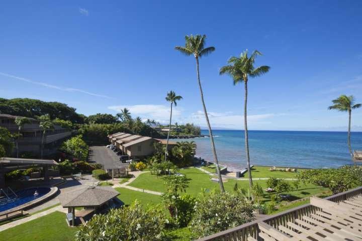 1/2 acres of tropical landscape - plus lovely herb garden for the enjoyment of our guests - Kahana Sunset B2 - 2 bedroom / 2.5 baths - Napili-Honokowai - rentals