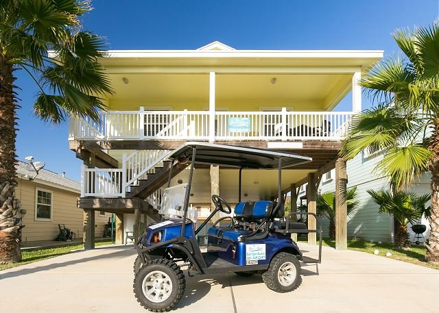 Free Golf Cart - Pop-A-Top is located near the beach, Pool, *Free Golf Cart, Outdoor Shower - Port Aransas - rentals