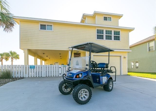 Free Golf Cart - Coco Loco, 4/3.5, Wifi, Close to Beach, PRIVATE Pool, *FREE Golf Cart - Port Aransas - rentals