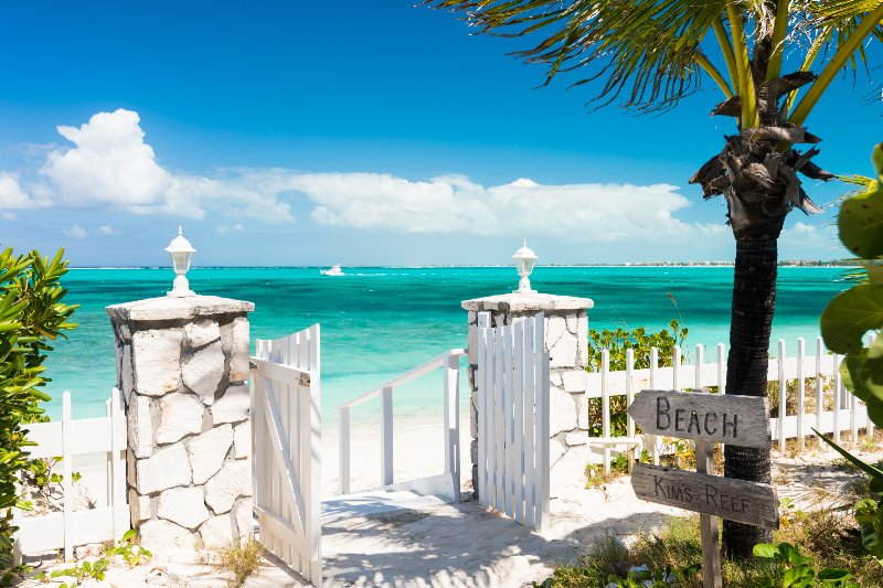 Reef Beach House on Grace Bay Beach - Image 1 - Providenciales - rentals