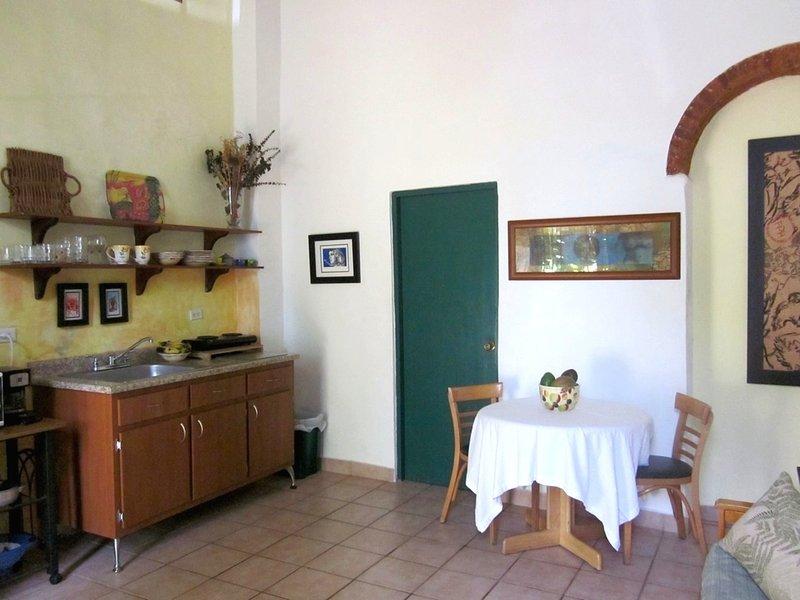 Living/kitchen/ dining area - Vacation Rental with Parking , Old San Juan  Apt1 - San Juan - rentals