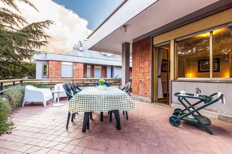 VATICAN - ELEGANT TERRACE PENTHOUSE -NO COMMISSION - Image 1 - Rome - rentals