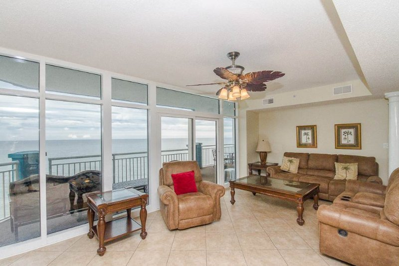 Luxury 5 Bedroom Oceanfront Condo at the Ocean Blue Resort - Image 1 - Myrtle Beach - rentals