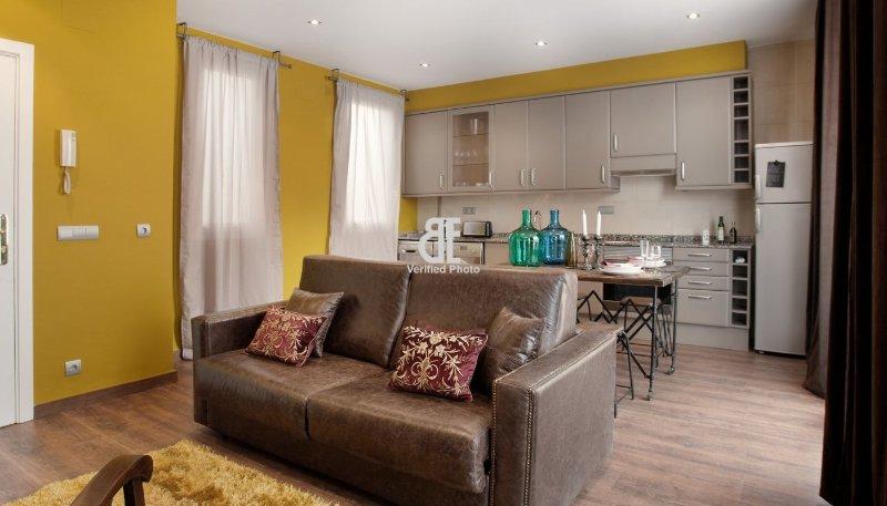 BCN Rambla Catalunya - Fantastic 1 bedroom penthouse with a large terrace - Image 1 - Barcelona - rentals