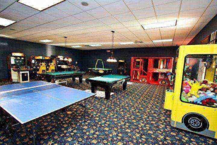 Kids check out the game room - Beautiful Paradise Palms Villa with Sauna and Pool - Kissimmee - rentals