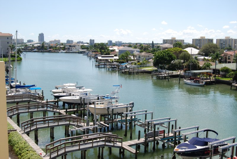 View from Rooftop Terrace - Beautiful  Clearwater  Beach  Townhouse Waterfront - Clearwater - rentals