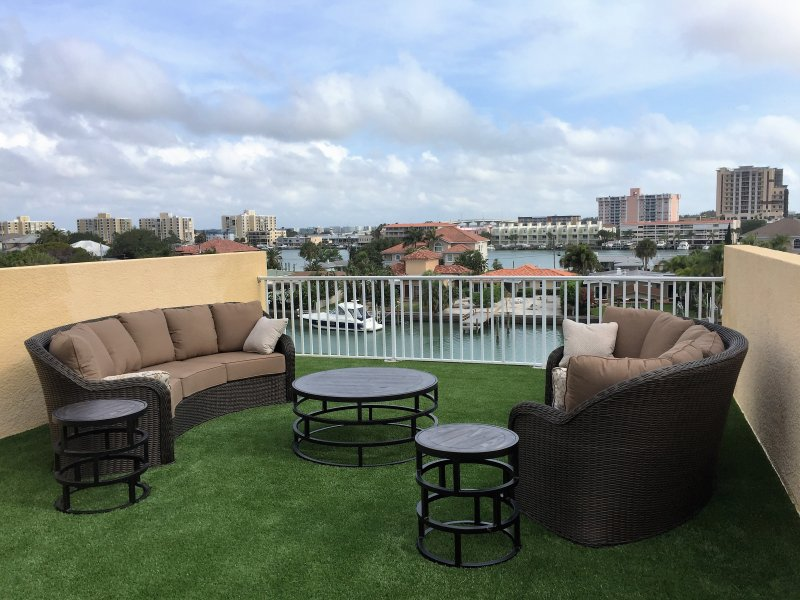 Beautiful Waterfront Rooftop Terrace - Luxury Waterfront Townhome - Clearwater - rentals